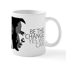 Obama - Change - Yes We Can - Grey Mug