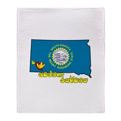 ILY South Dakota Throw Blanket