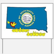 ILY South Dakota Yard Sign