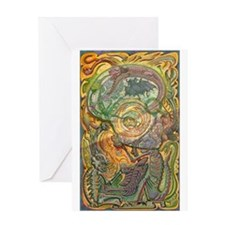 Maya Book of the Dead Greeting Card