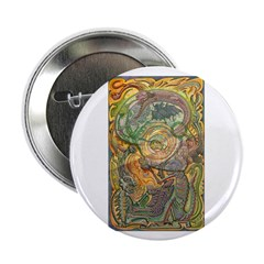 """Maya Book of the Dead 2.25"""" Button (100 pack)"""