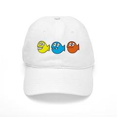 3 fishies Baseball Cap