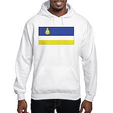 Buryatia Flag Hoodie