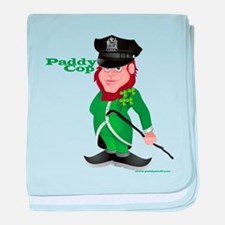 Paddy Cop baby blanket