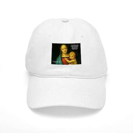 Raphael Madonna Painting Cap