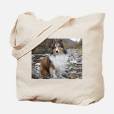 Sable Sheltie Hiker Tote Bag