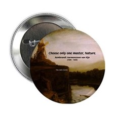 Rembrandt Painting & Quote Button