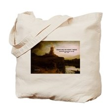 Rembrandt Painting & Quote Tote Bag