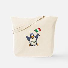 Italy Penguin Tote Bag
