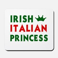 Irish Italian Princess Mousepad