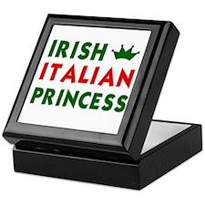 Irish Italian Princess Keepsake Box