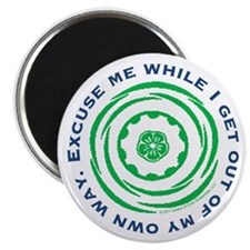"Excuse Me... 2.25"" Magnet (10 pack)"