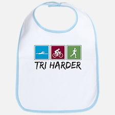 Tri Harder (Thiathlon) Bib