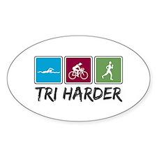 Tri Harder (Thiathlon) Decal