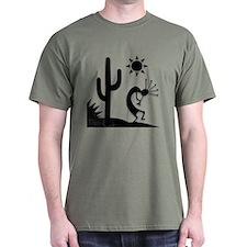 Silhouette Kokopelli T-Shirt