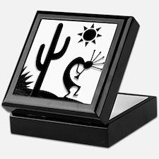 Silhouette Kokopelli Keepsake Box
