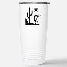 Silhouette Kokopelli Travel Mug
