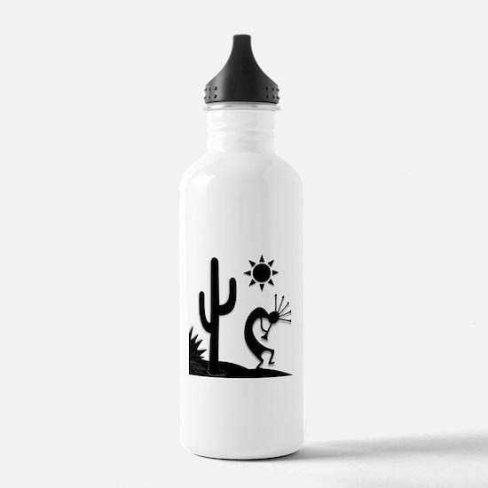 Silhouette Kokopelli Sports Water Bottle