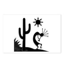Silhouette Kokopelli Postcards (Package of 8)