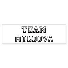 Team Moldova Bumper Bumper Sticker