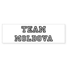 Team Moldova Bumper Bumper Sticker