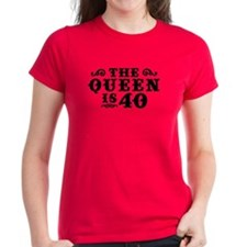 The Queen is 40 Tee