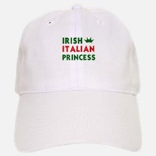 Irish Italian Princess Baseball Baseball Cap
