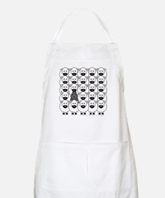 Bouvier and Sheep Apron