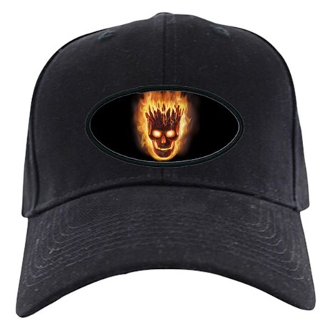 Volcanic Skull Black Cap
