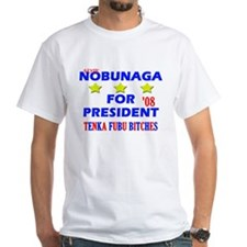 White Nobunaga Campaign T-Shirt