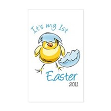 It's My First Easter '11 Decal