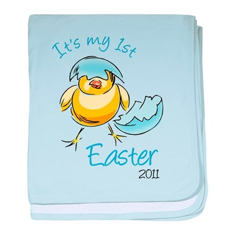 It's My First Easter '11 baby blanket