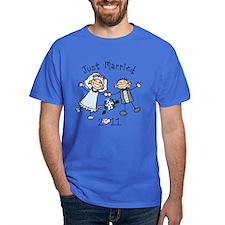 Stick Just Married 2011 T-Shirt
