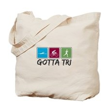 Gotta Tri (Triathlon) Tote Bag