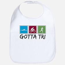 Gotta Tri (Triathlon) Bib