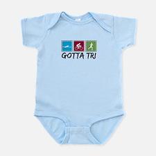 Gotta Tri (Triathlon) Infant Bodysuit