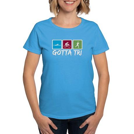 Gotta Tri (Triathlon) Women's Dark T-Shirt