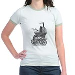 Steampunk baby Jr. Ringer T-Shirt