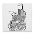 Steampunk baby Tile Coaster