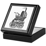 Steampunk baby Keepsake Box