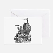 Steampunk baby Greeting Card
