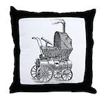 Steampunk baby Throw Pillow