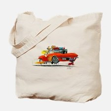 1963 Chevrolet Corvette Convertible Tote Bag