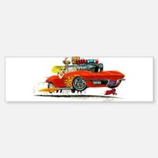 1963 Chevrolet Corvette Convertible Bumper Bumper Sticker