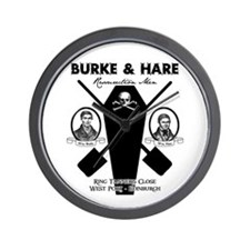 Burke & Hare Wall Clock