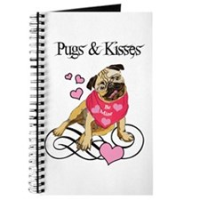 Pugs & Kisses Valentine Journal