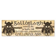 Gallowglass Car Sticker