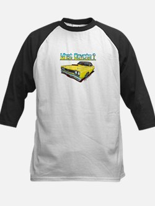 1969 Plymouth Road Runner Kids Baseball Jersey