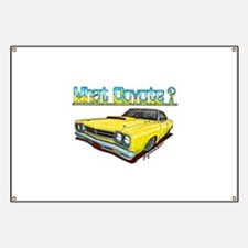 1969 Plymouth Road Runner Banner