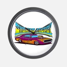 1970 Dodge Charger Wall Clock